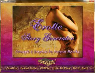 The Erotic Story Generator screenshot 1