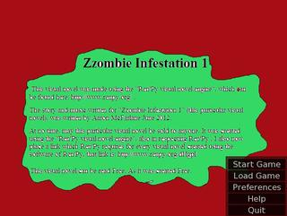 Zzombie Infestation 1 screenshot 1