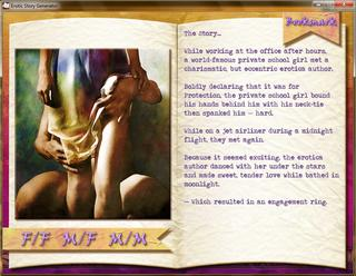 The Erotic Story Generator screenshot 2