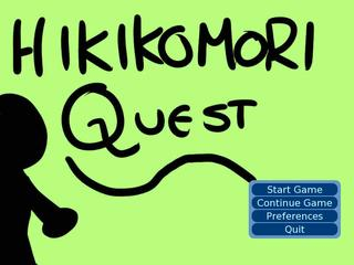 Hikikomori Quest screenshot 1