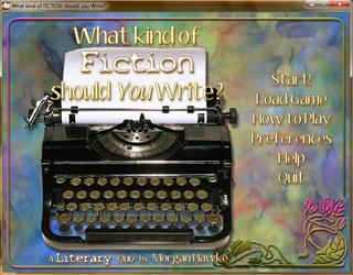 What Kind of Fiction should You Write? screenshot 2