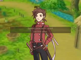 Lloyd Irving Dating Sim screenshot 1