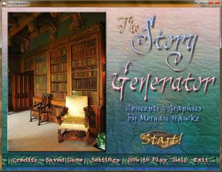 The Story Generator screenshot 1