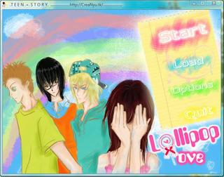 1st Teen Story: Lollipop Love screenshot 1