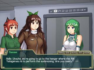 Touhou Mecha: Hell's Rising screenshot 1