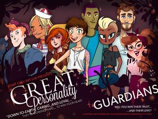 Light Grey Art Lab's Great Personality : Guardians screenshot 1
