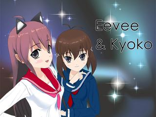Eevee and Kyoko screenshot 1
