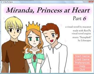 Miranda, Princess at Heart: part 6 screenshot 1