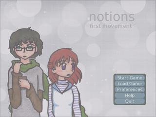 Notions: First Movement screenshot 2