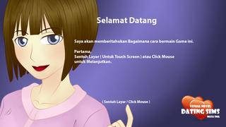 Visual Novel Dating Sims : Masa SMA screenshot 2