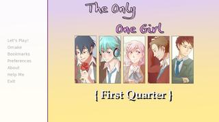 The Only One Girl {First Quarter} screenshot 1