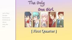 The Only One Girl { First Quarter } thumbnail