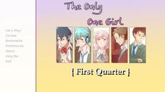 The Only One Girl {First Quarter} thumbnail